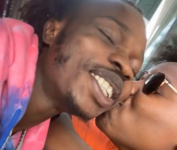 Teni and Naira Marley share Kiss - Tags their marriage #TenNaira2020