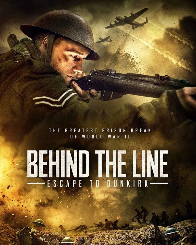 MOVIE : Behind the Line - Escape to Dunkirk (2020)