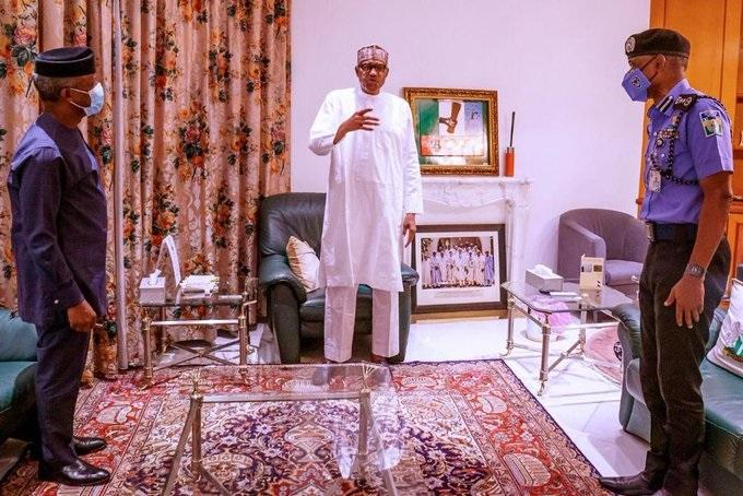 Buhari reacts to endsars