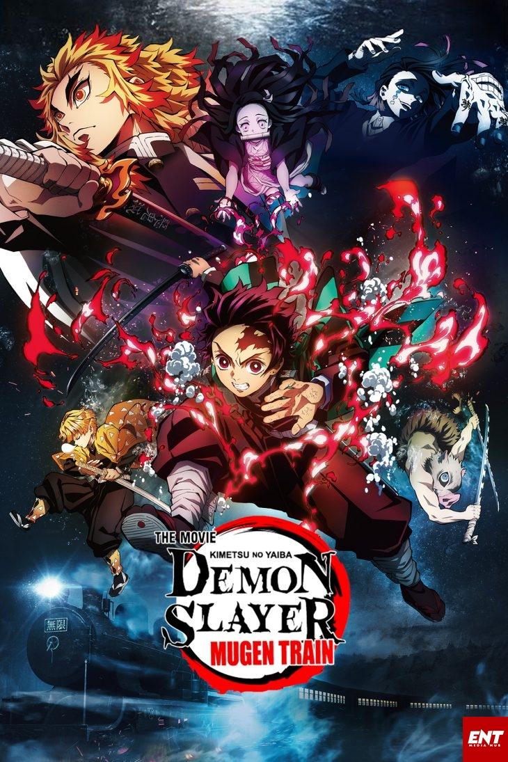 MOVIE : Demon Slayer - Mugen Train (2020) [Animation]