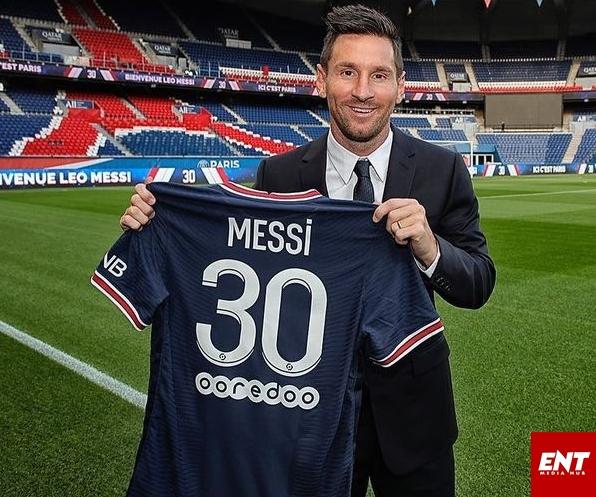 Messi PSG away kits